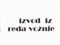 Red vožnje 1989/90 JŽ