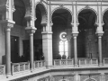 Unutarnji enterijer Vijećnice prilikom otvaranja 1896.