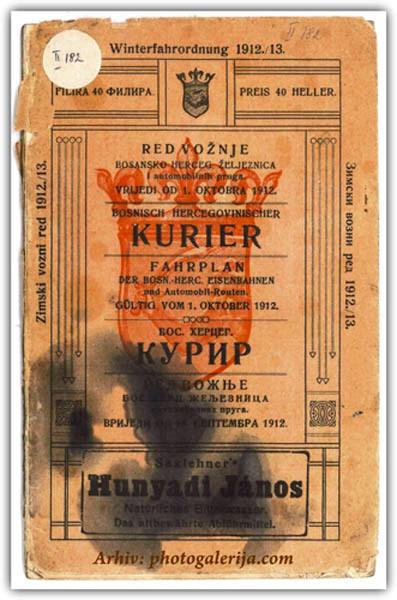 red voznje 1912