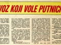 Bosna Expres, članak maj 1982. god.