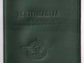 Jugoslovenske Železnice-Legitimacija za povlaštenu vožnju 1983.godine